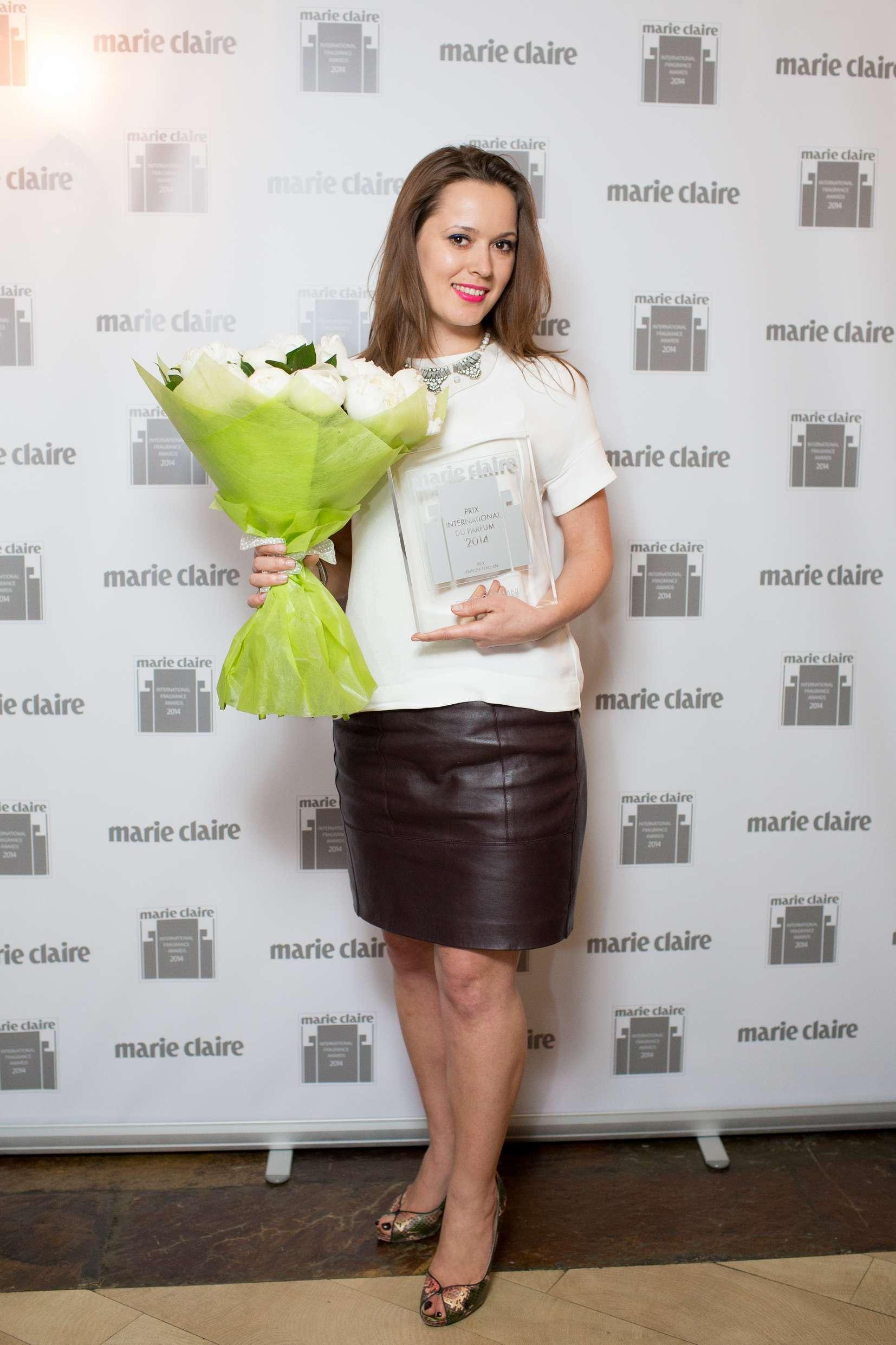 Журнал Marie Claire вручил главную beauty-премию года новые фото